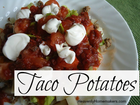 Taco Potatoes