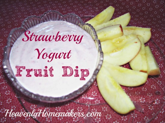 Strawberry Yogurt Fruit Dip