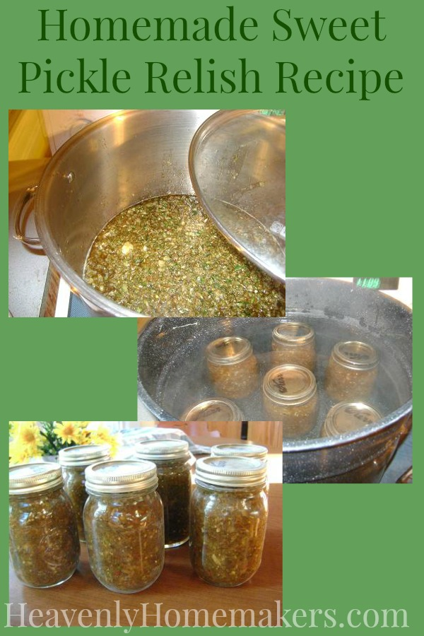 Homemade Sweet Pickle Relish Recipe