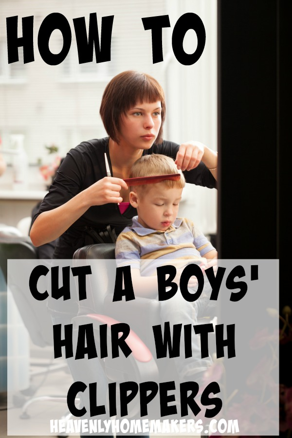 How to Cut a Boys Hair with Clippers