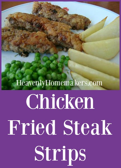 Chicken Fried Steak Strips