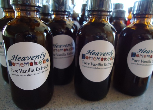 Heavenly Homemakers Homemade Vanilla Extract - 8 ounce