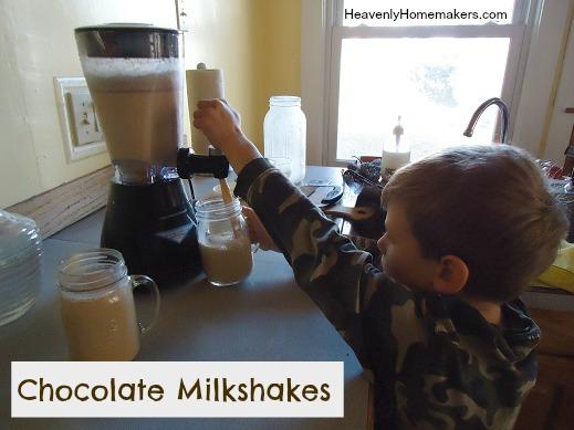 Chocolate Milkshakes