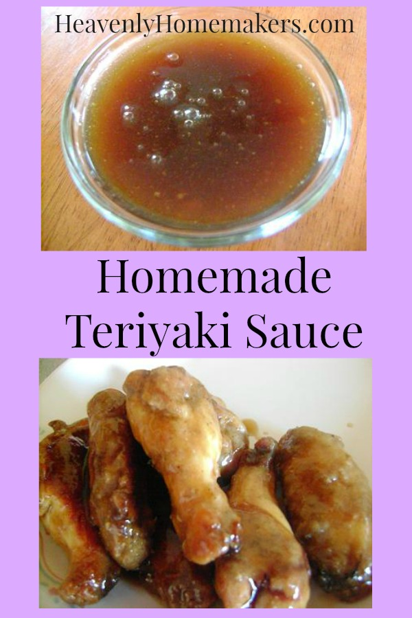 Homemade Teriyaki Sauce (No MSG or HFCS!) | Heavenly Homemakers