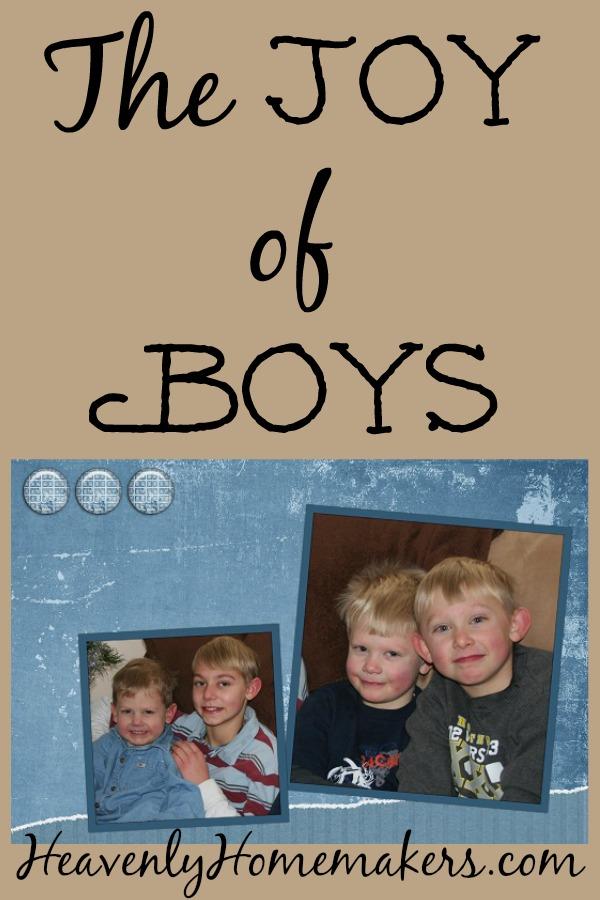 The Joy of Boys