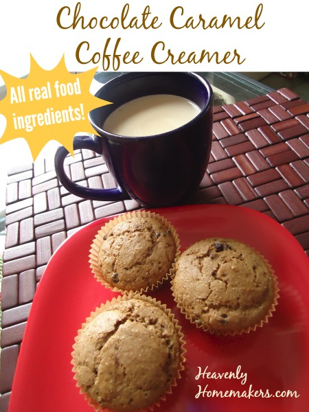 Chocolate Caramel Coffee Creamer