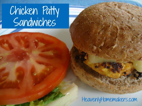 Chicken Patty Sandwiches