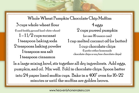 free printables from heavenly homemakers fall recipe cards