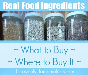 Real Food Ingredients Resource Page 2