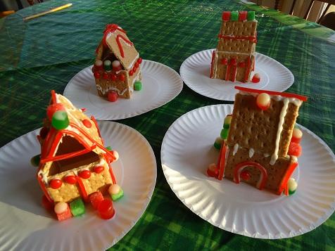 Making Graham Cracker Gingerbread Houses Or Why I