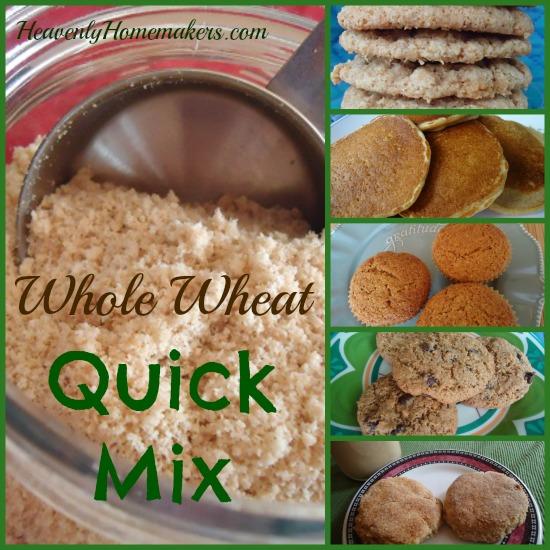 Whole Wheat Quick Mix