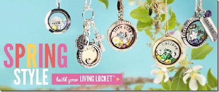 Spring Origami Owl Living Lockets