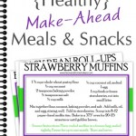 Make Ahead Meals and Snacks