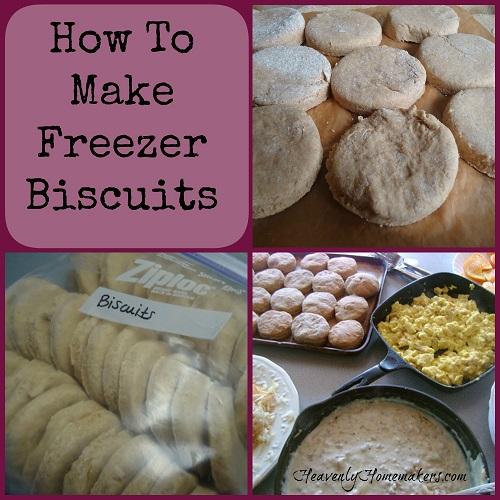 Freezer Biscuit Tutorial