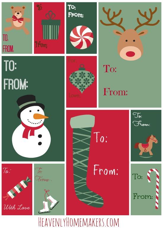 Christmas Gift Tags HHM