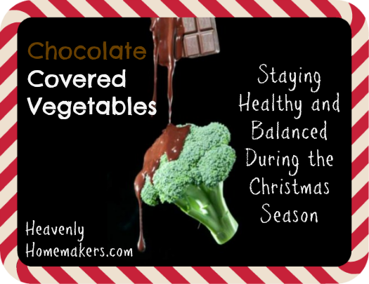 chocolate covered vegetables