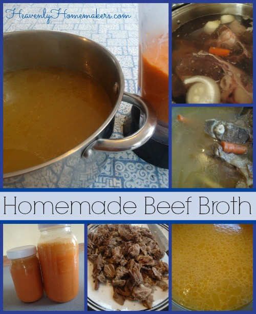 Homemade Beef Broth