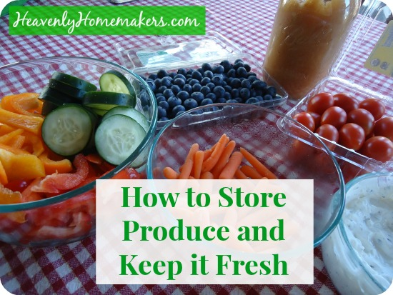 How to Store Produce and Keep it Fresh