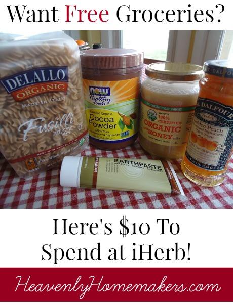 Free Groceries at iHerb