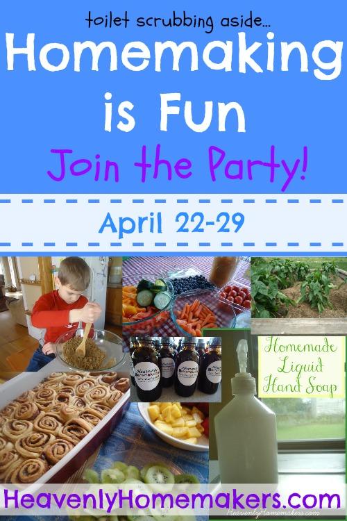 Homemaking Is Fun Invitation 3