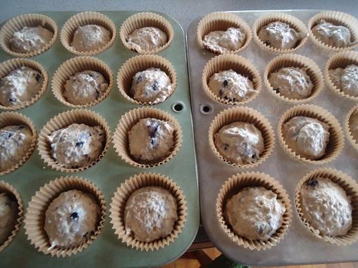 cream muffins freezer