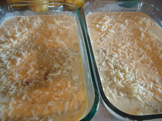 egg casseroles for freezer