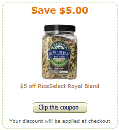 rice coupon
