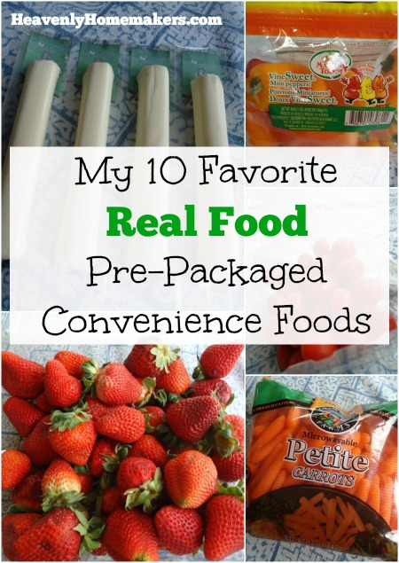 10 Real Food Pre-Packaged Convenience Foods