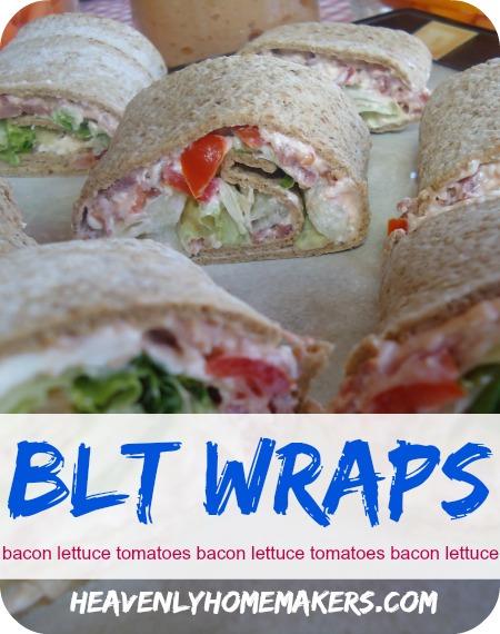 BLT Wraps
