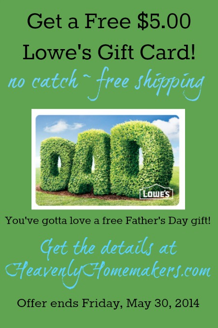 Free Lowes Gift Card