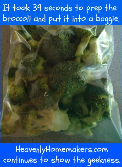 Get Your Broccoli Ready to Steam Quickly