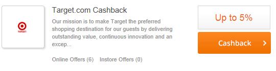 top cash back target
