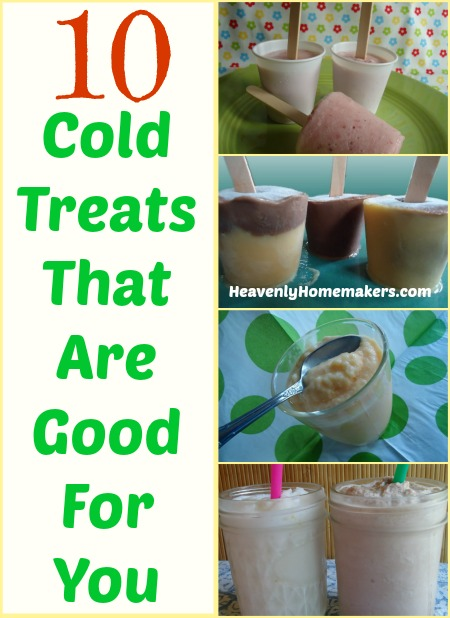 10 Cold Treats That Are Good For You