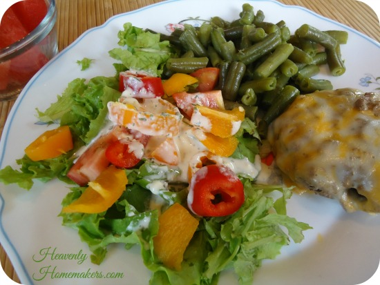 Oven Free Summertime Meal