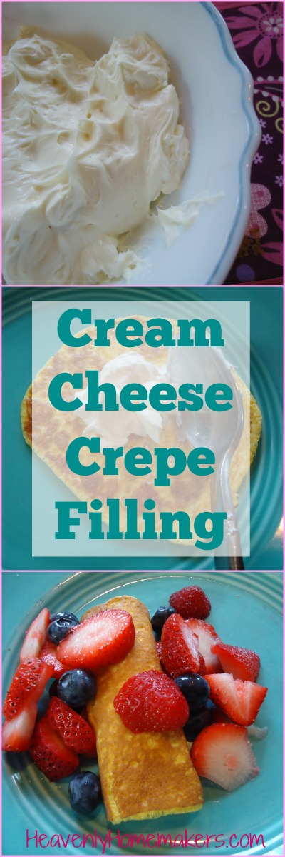 Cream Cheese Crepe Filling