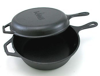 lodge skillet with lid