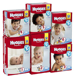 top cash back huggies