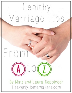 Healthy Marriage Tips from A to X ~ Free Download sidebar