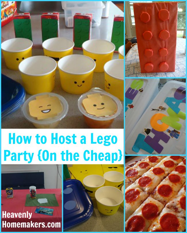 How to Host a Lego Party (on the cheap!)