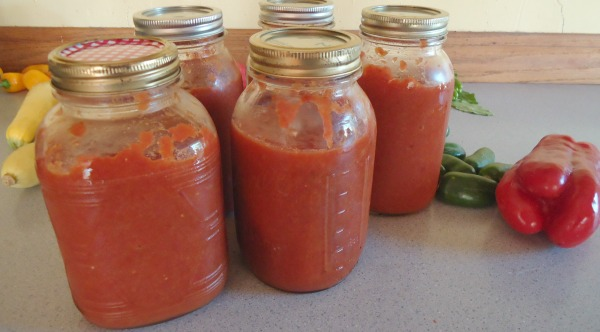 Tomato Soup for the Freezer
