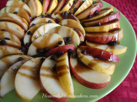 Apple Nachos - Easy!