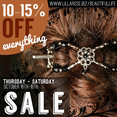 Lilla Rose Fall Sale Post