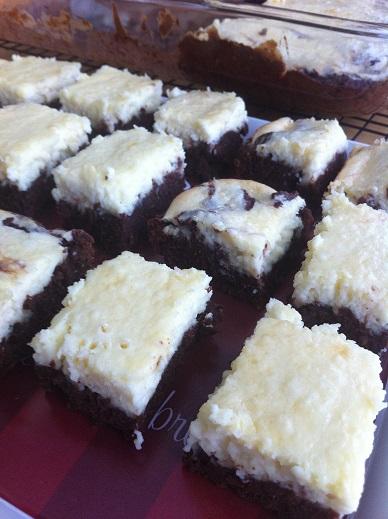 cheesecake brownies 1