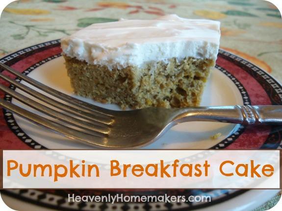 Pumpkin Breakfast Cake2