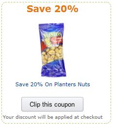 planters coupon