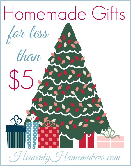 Homemade Gifts for Less Than $5