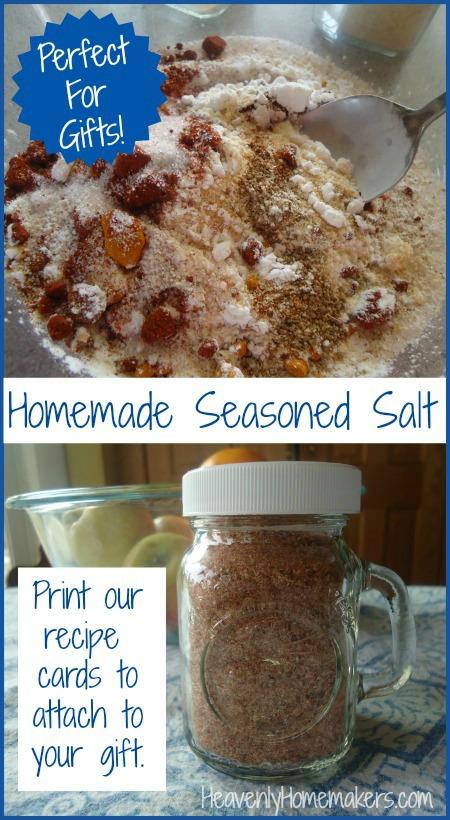 Homemade Seasoned Salt Recipe
