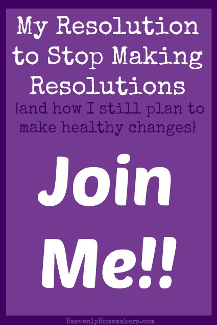 Join Me in Making Healthy Changes