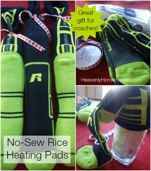 No-Sew Rice Heating Pads