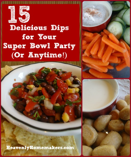 15 Delicious Dip Recipes